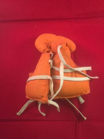 VINTAGE ACTION MAN - SAILOR - NAVY ATTACK LIFE JACKET (ref5)